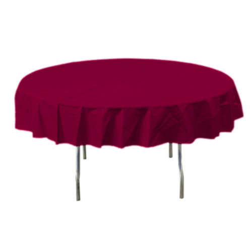 Berry Round Plastic Tablecover