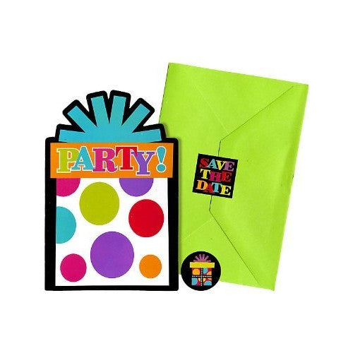 Party On Invites (20ct)