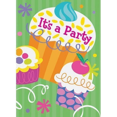 Birthday Fever Invites (20ct)