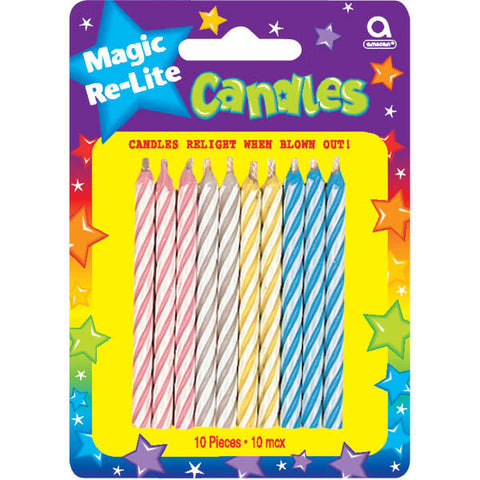 Magic Re-Lite Candles (10ct)