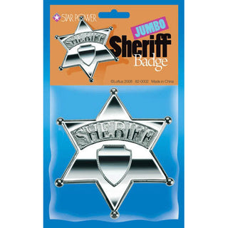Jumbo Sheriff Badge (1 ct)