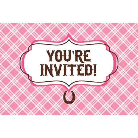 Heart My Horse Invitations (8ct)