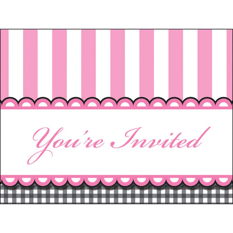 Sweet Baby Feet - Pink Invitations