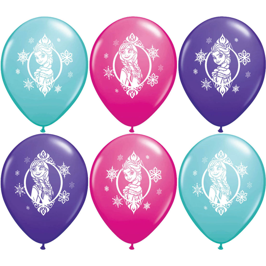 "12"" Disney Frozen Balloons (6ct)"