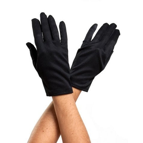 Black Costume Gloves