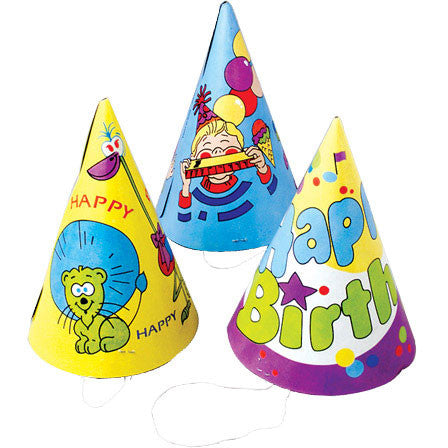Happy Birthday Paper Hats