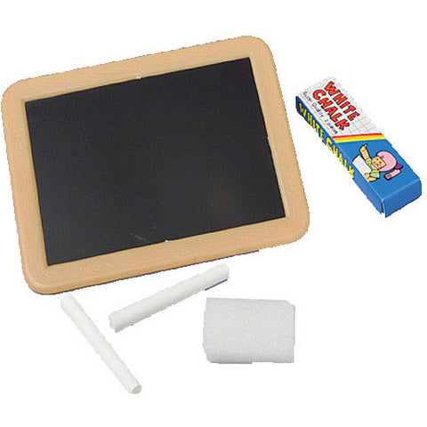Blackboard with Chalk and Erasers (12ct)