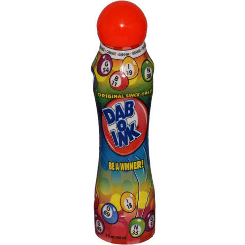 3 oz Bingo Dauber - Orange