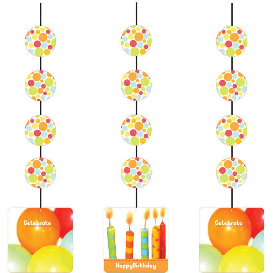 Chic Birthday  Cutout (3 per p
