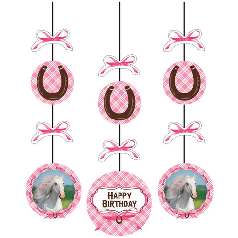 Heart My Horse Hanging Cutouts (3ct)