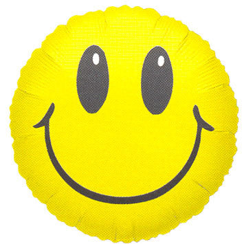 Smile Face Yellow Mini Balloon (1 ct)