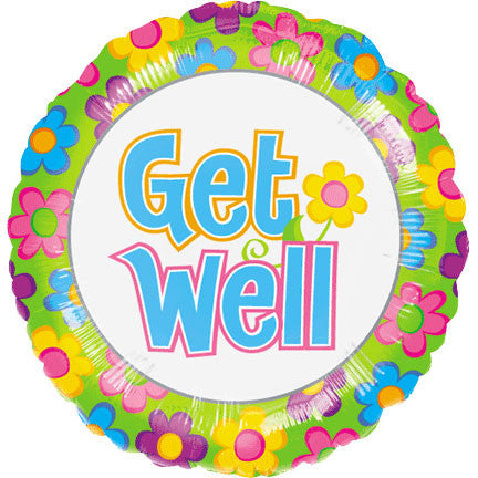 "18"" Get Well Flowers Value Line"
