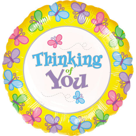 "18"" Butterfly Thinking Of You Value Line"