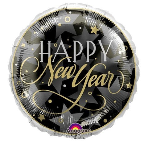 "18"" Enchanted Evening New Year Foil Balloon"
