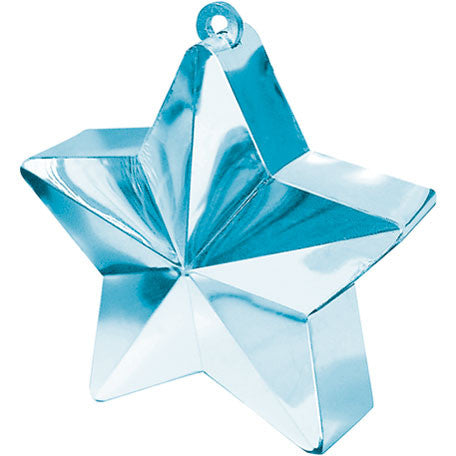 Light Blue Star Weight 6 Oz (1 ct)