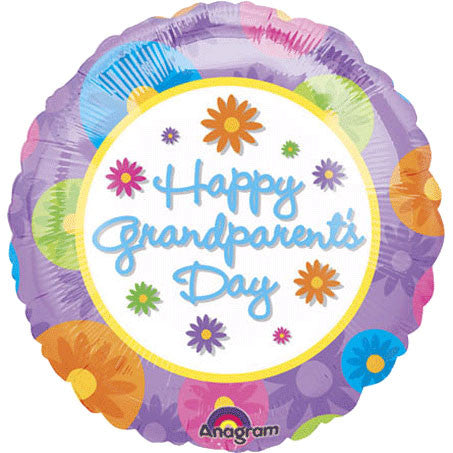 "18"" Happy Grandparents Day Anagram"