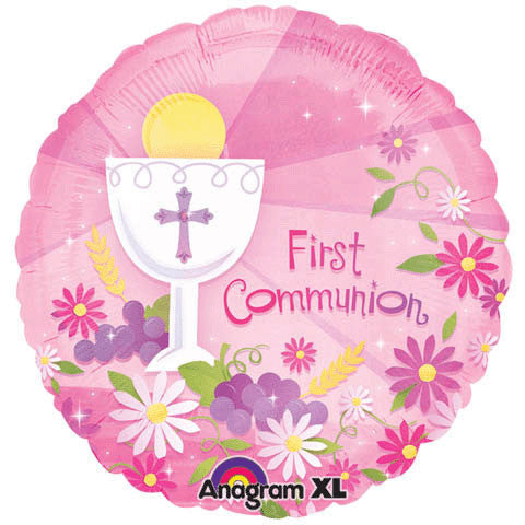 "18"" First Communion Pink"