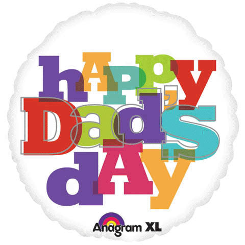 Celebrations & Occasions Balloons Happy Fathers Day Awesome Dad 18 Foil Party Balloon