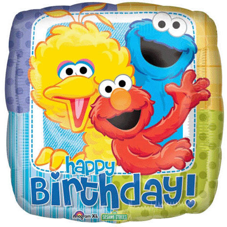 "18"" Sesame Street Birthday"