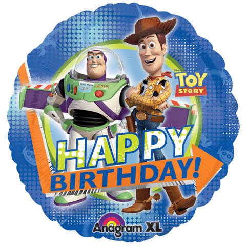 "18"" Toy Story Birthday Balloon"
