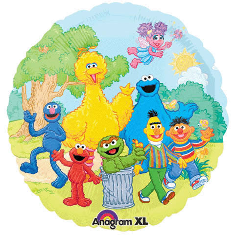 "18"" Sesame Street Group"