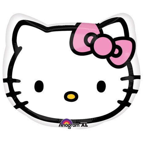 "18"" Hello Kitty Head Junior Shape"