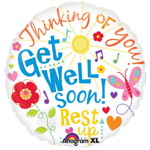 "18"" Get Well Messages"