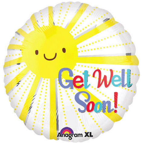 "18"" Get Well Sunshine"