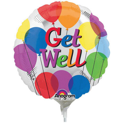 Get Well Balloons Mini