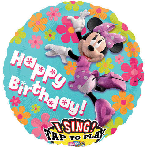 "28"" Minnie Mouse Birthday Sing-a-tune"