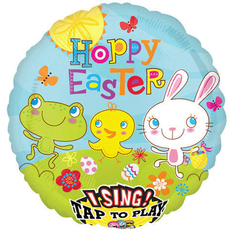 "28"" Cottontail Hoppy Easter Sing-a-tune"
