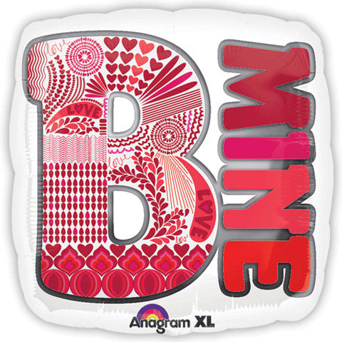 "18"" Be Mine Patterns"
