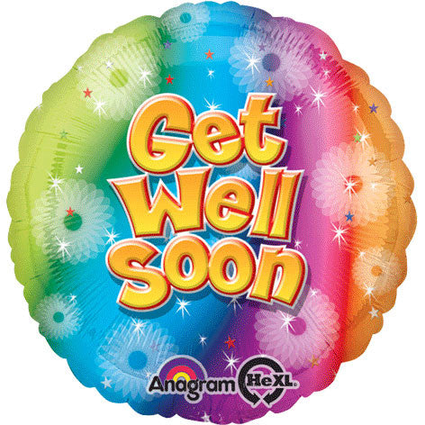 "18"" Get Well Soon Hx"