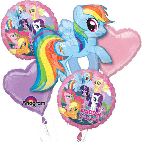 My Little Pony Friendship Bouquet of Balloons (5pc)