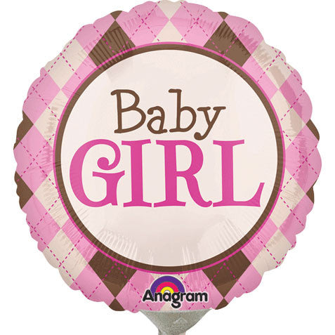 Argyle Baby Girl Mini