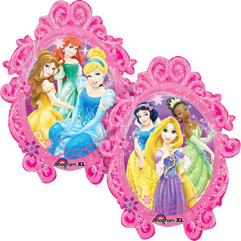 Princesses Frame Super Shape
