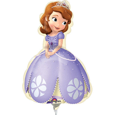 Sofia the First Mini Shape Foil Balloon