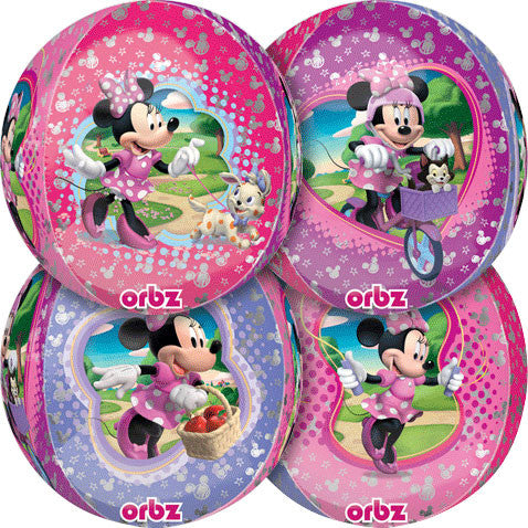 "15"" Minnie Mouse Orbz Balloon"