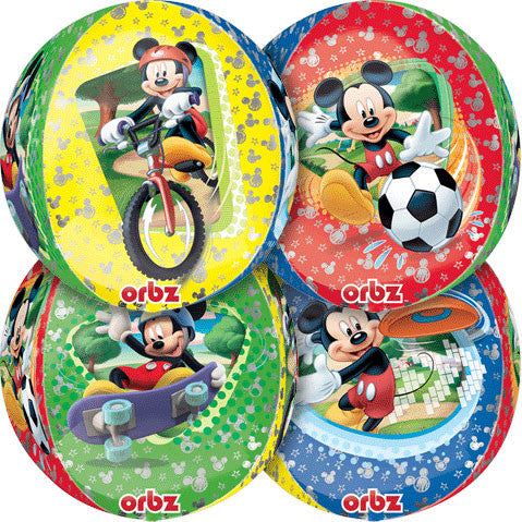 "15"" Mickey Mouse Orbz Balloon"