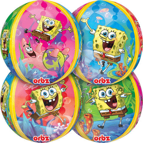 "15"" Spongebob Squarepants Orbz Balloon"