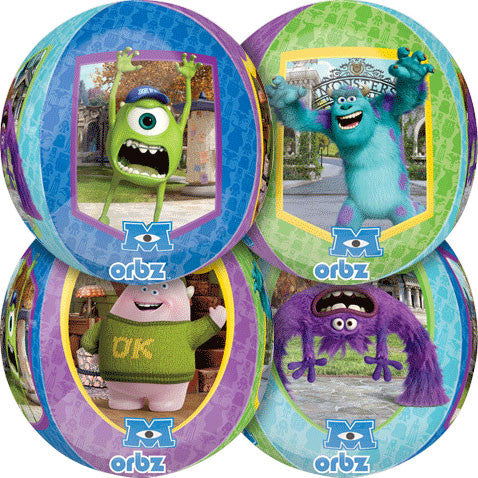"15"" Monsters University Orbz Balloon"