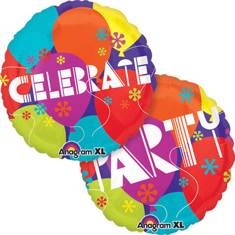 "21"" Celebrate Party Balloons Colorblast"