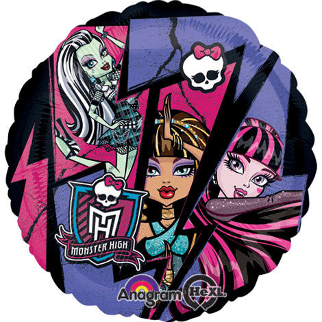 "18"" Monster High Group Hx"