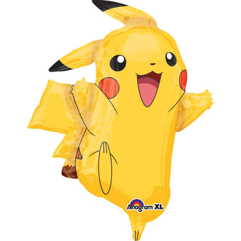 Pikachu Super Shape Foil Balloon