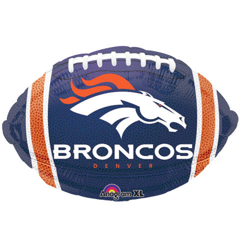 "18"" Denver Broncos Football Mylar"