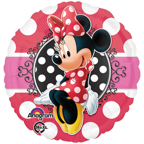 "18"" MINNIE PORTRAIT HX"