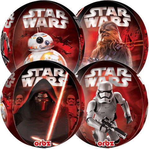 "15"" STAR WARS THE FORCE AWAKENS ORBZ"