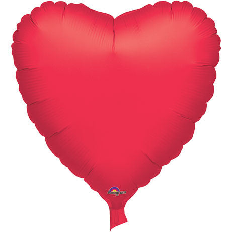 "32"" Metallic Red Heart Balloon (1 ct)"