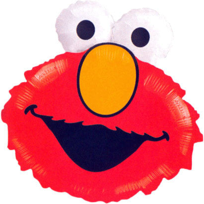 Elmo Head (Shape) Mini Balloon (1 ct)