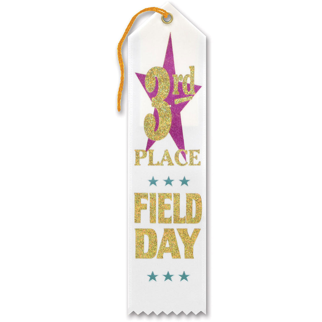 3rd Place Field Day Award Ribb
